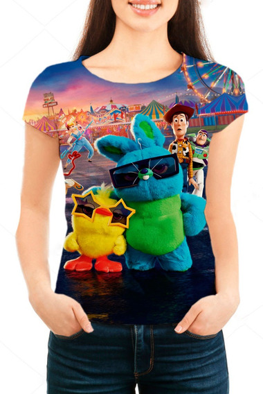Camiseta Babylook Feminina Toy Story 4 - Mn04