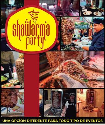 Servicio De Catering Shawarma Party, Eventos Consulta Ya!