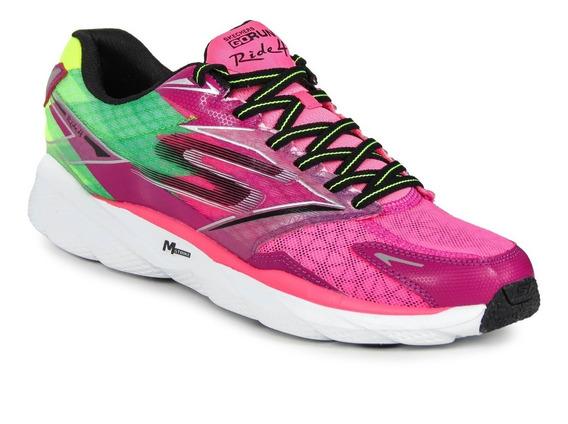 Zapatillas Skechers Go Run Ride 4 Mujer Running Importadas