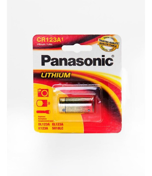 Pila Panasonic Lto Cr123 3v Cr-123apa/1b