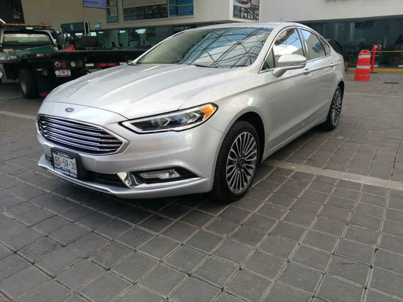 Ford Fusion 2017 4p Se Luxury Plus L4/2.0/t Aut