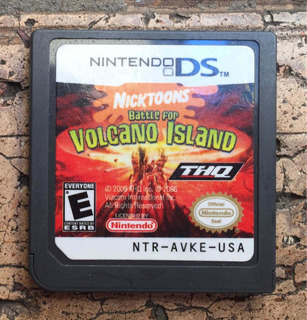 Juego Ds Battle For Volcano Island