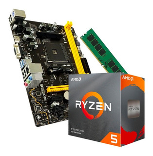 Actualización Combo Amd Ryzen 5 3600 + 16gb Ddr4 + Mother