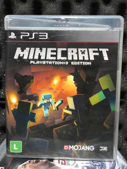 Jogo Ps3 Minecraft Mídia Física Original Português Envio Já!