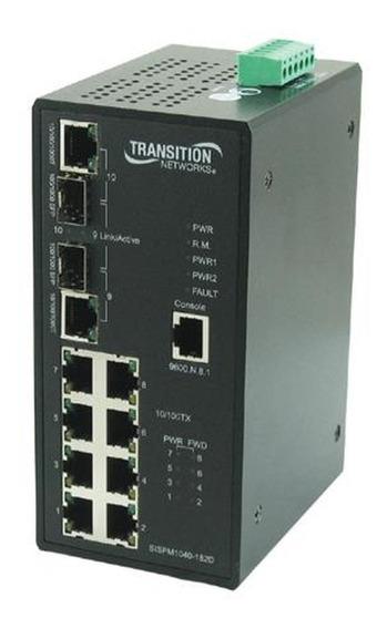 Transition 8-ports 10/100 Industrial Poe Sispm1040-182d_lrt