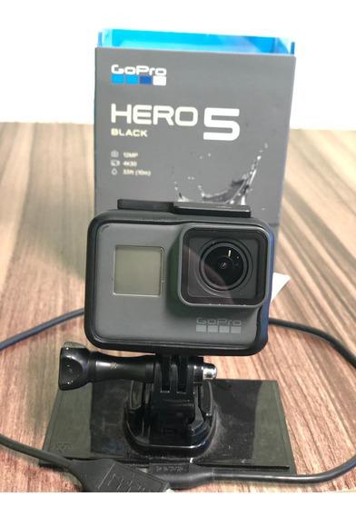 Gopro Hero 5 Usada + Cartão Classe 10