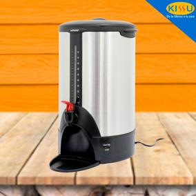 Cafetera Umco Para 50 Tazas 100% Acero Inox Luz Indicadora