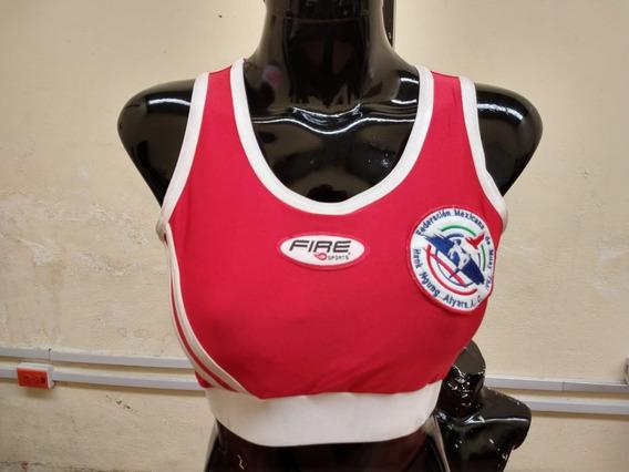 Top Deportivo Sport Bra Muay Thai Talla Chica