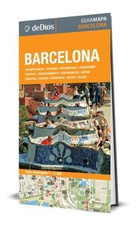 Guía Mapa De Barcelona. De Dios Guías De Viaje.