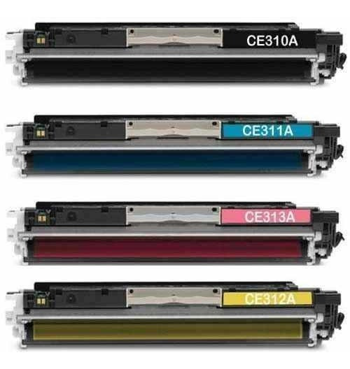 Kit 4 Toner Compatível Cp1025 Cp1020 Cp1020wn M175a