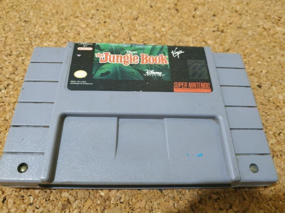 Jungle Book Super Nintendo Original