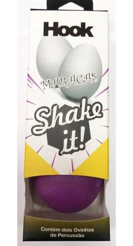 Maracas Hook Egg Shake It Roxa