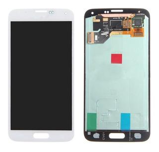 Pantalla Lcd + Mica Samsung S5 G900 F W, P, T Somos Tienda