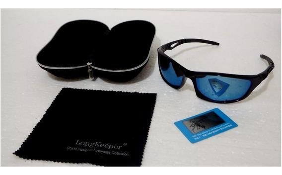 Óculos Long Keeper H D Polarizado Uv Masc/femin Original!