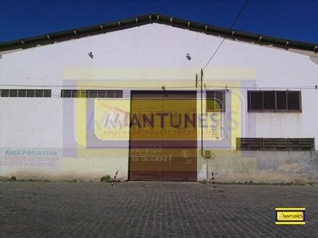 Imagem 1 de 8 de Alugue Galpão Na Imbiribeira Com 1.566m², Mais Pátio Compartilhado - Ga-0241