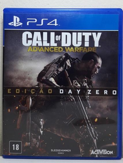 Jogo De Ps4 Call Of Duty Advanced Warfare Em Mídia Física