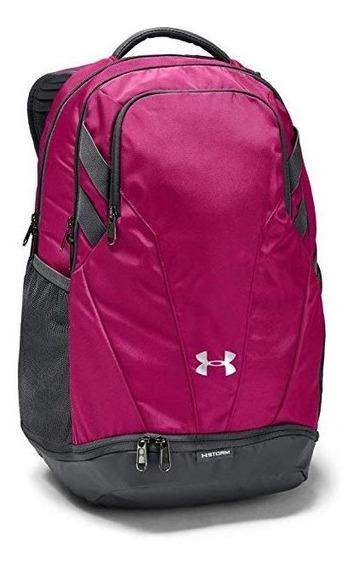 Mochila Under Armour Team Hustle 3.0 Backpack Rosa Impermeab