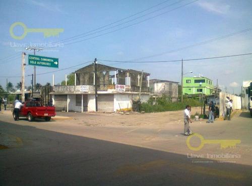 Imagen 1 de 4 de Terreno Comercial En Carretera Tansistmica, Col. Villas Del Sur
