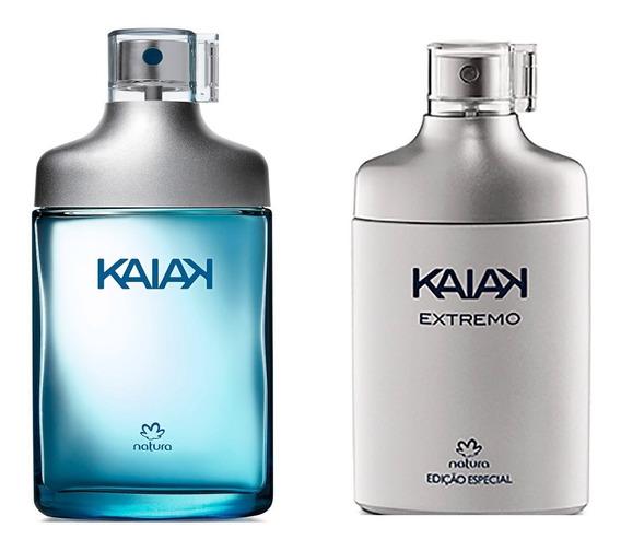 Kit Perfumes Masculinos Natura Kaiak + Kaiak Extremo