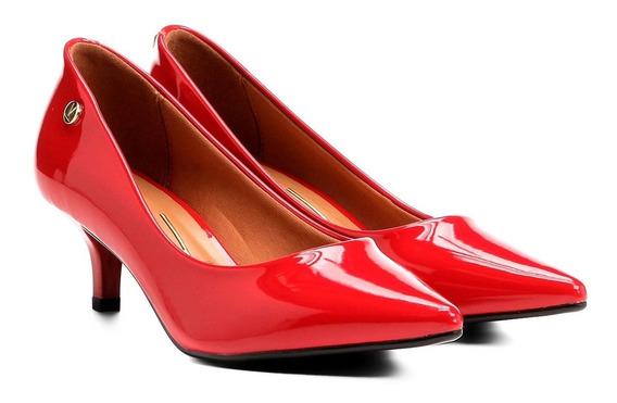 Sapato Scarpin Onca Animal Print Salto Baixo Croco 1122.628