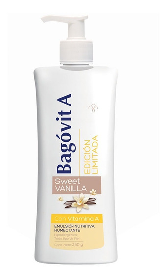 Bagovit A Emulsión Nutritiva Humecta Sweet Vanilla 350ml