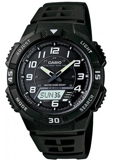 Relógio Casio Aq-s800w-1bvdf Anadigi Cronógrafo - Refinado