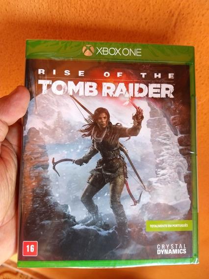 Rise Of The Tomb Raider Xbox One Midia Física Novo Lacrado