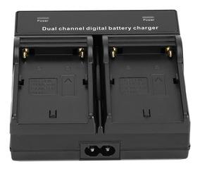 Carregador Duplo Bateria Sony Np-f970 F550 F570 F750