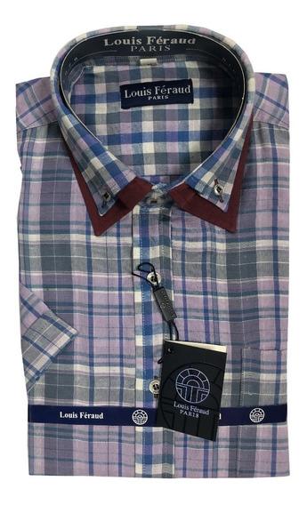 Camisas Doble Cuello Louis Feraud Manga Corta 102329