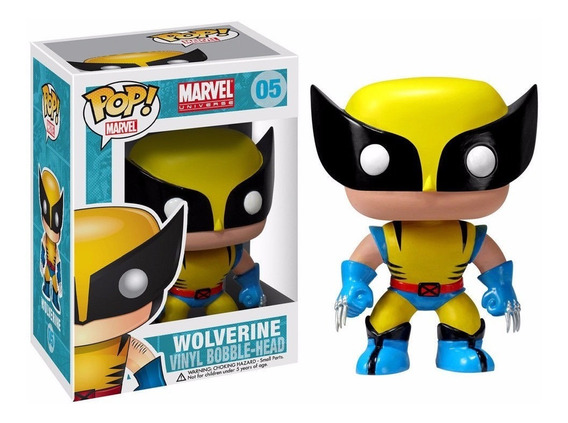 Wolverine 05 Funko Pop Marvel X-men