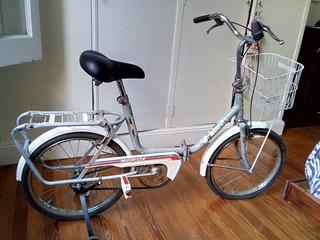 Bicicleta Mini Plegable Musetta Usada Exc Estad Caba Edfargz