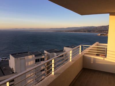 Costa De Montemar Con Con. Panorámica Vista Al Mar