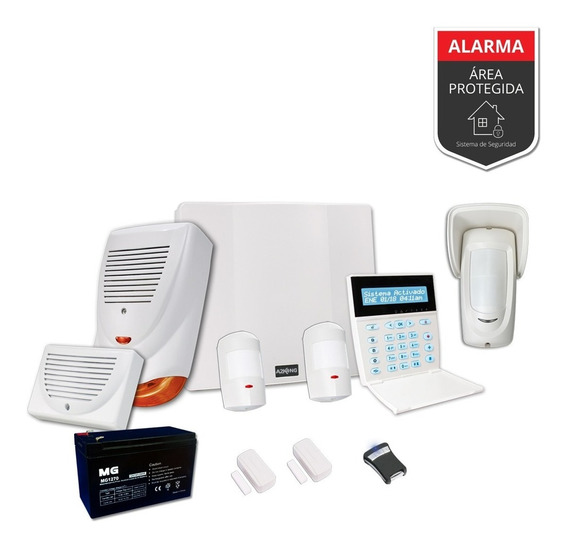 Alarma Domiciliaria Kit - Inalambrico