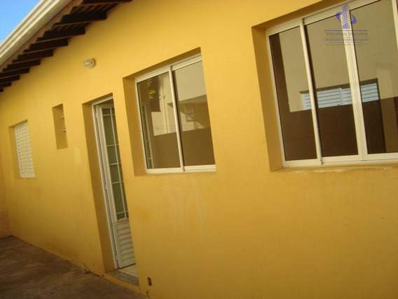 Casa Com 2 Dormitórios Para Alugar Por R$ 1.000,00/mês - Bosque Dos Eucaliptos - Valinhos/sp - Ca1181
