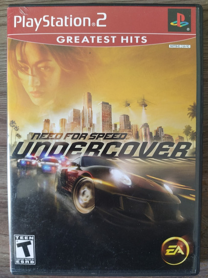Need For Speed Undercover Ps2 Original