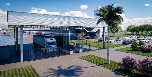 Imagem 1 de 6 de Galpão Comercial Para Locação, Condomínio Fechado, Canutama, Belém/pa. - Ga0730