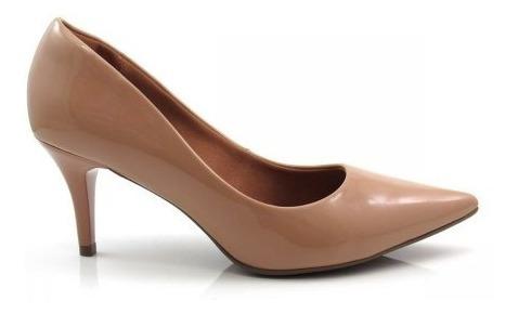 Sapato Scarpin Bebece Feminino Salto Fino Nude - 7010-104