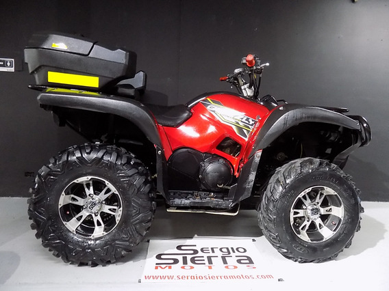 Yamaha Grizzly700 Rojo 2010