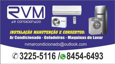 Instalação, Higienização E Consertos De Ar Condicionado