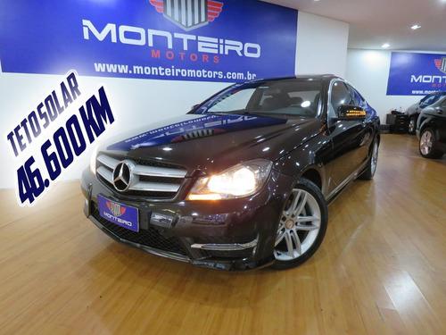 Mercedes C180 1.6 Cgi Coupe Aut Completão C/ Teto 46.600 Km