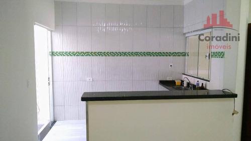 Imagem 1 de 15 de Casa Residencial À Venda, Parque Residencial Jaguari, Americana. - Ca1533