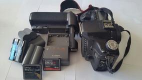 Canon Eos 50d + Grip + 4 Baterias + Carregador + 3 Cartões