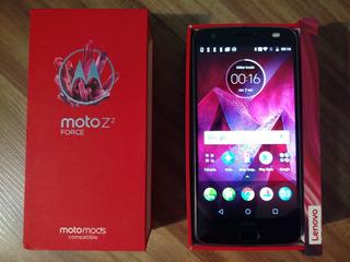 Moto Z2 Force 5,5 Quadhd 64gb 2560x1440p Snap845 Lacrado 12x