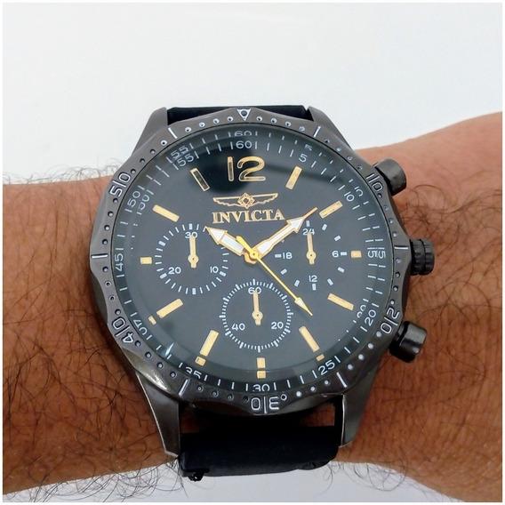 Relógio Masculino Esporte Barato Pulseira De Couro + Caixinha 12x Sem Juros