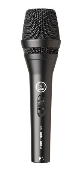 Microfone Vocal Dinamico Perception P3 S - Akg