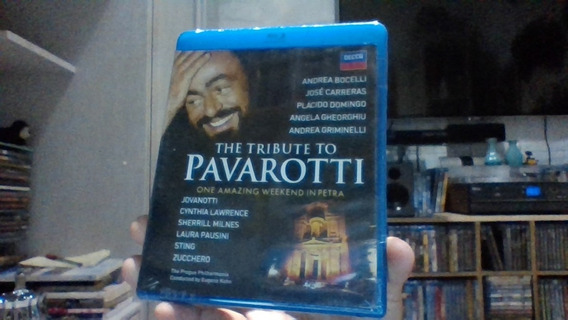 Blu-ray The Tribute To Pavarotti Lacrado Frete 9 R$