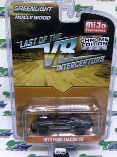 1972 Ford Falcon Xb Interceptor Mad Max Chrome Greenlight