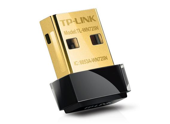 Placa De Red Wifi Usb Tp-link Tl-wn725n 150 Mbps Nano