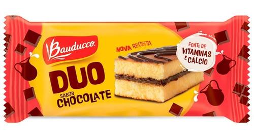 Bolinho Duo Sabor Chocolate Bauducco 27g