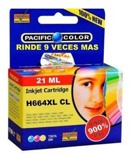 Cartucho Impresora Color 664 Xl Rinde 9x Leer Compatibilidad